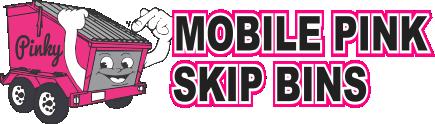 Mobile Pink Skip Bins